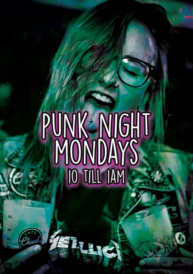 Punk Night Poster